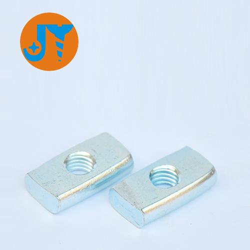 M5长方形螺母兰锌